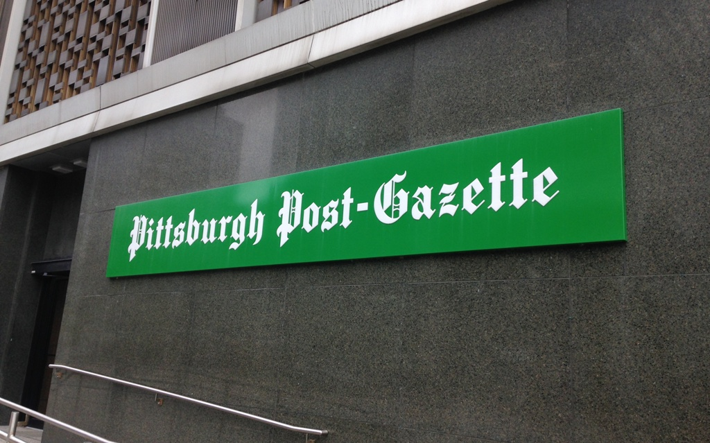 "The <i>Pittsburgh Post-Gazette</i> fires an editorial cartoonist for being ""too angry"""