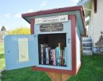 The New York City subway gets its first Little Free Library