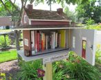 An innovative eight-year-old sets up Little Free Libraries in Indiana