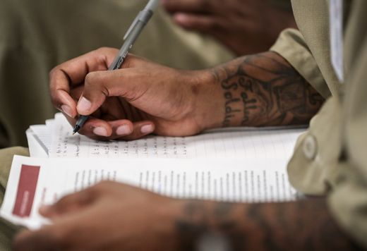 Creative writing workshops make a positive impact on the incarcerated