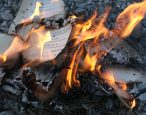 The South African apartheid and the burning of books