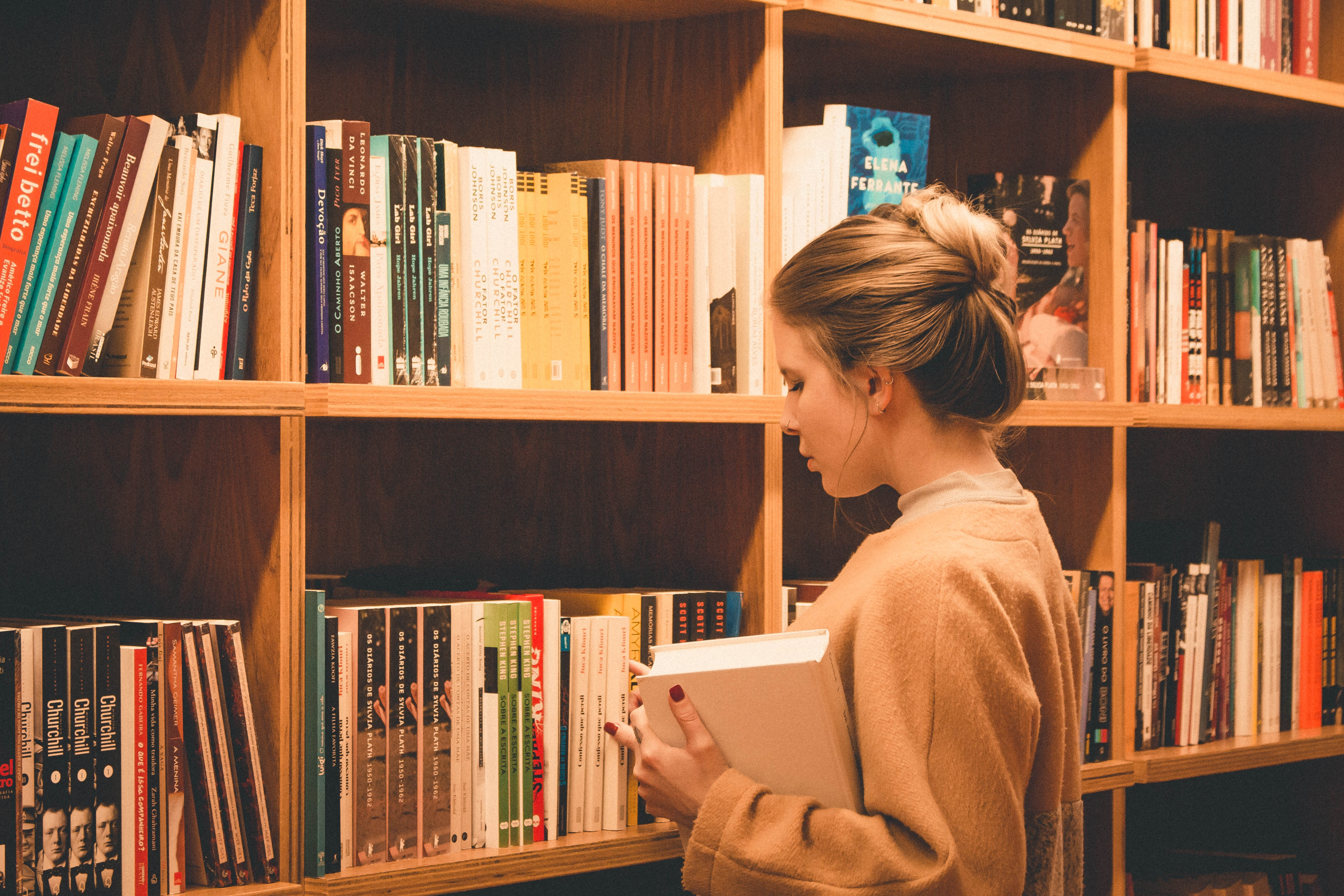 Intellectual show-offs and other insufferable book customers