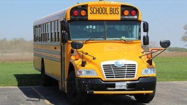 A bus of books to be used to close literacy gap in Statesboro, Georgia