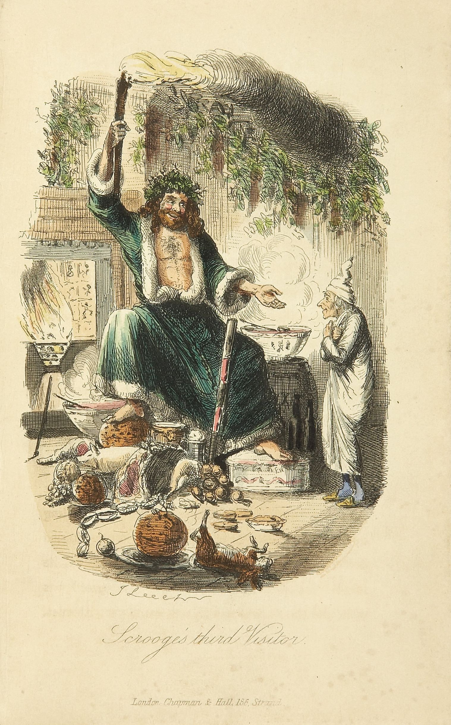 Christmas with Dickens: a new foodie exhibition comes to London