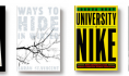 First lines: Death and Other Holidays, Ways to Hide in Winter, University of Nike, and Chalk