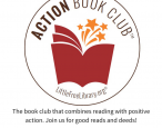 The Little Free Library's Action Book Club combines reading and community service projects