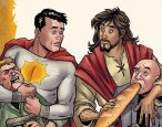 A satirical DC Comic series depicting Jesus Christ is canceled
