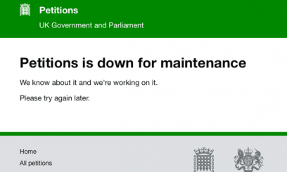 An online petition to stop Brexit crashes government website due to sheer number of supporters.