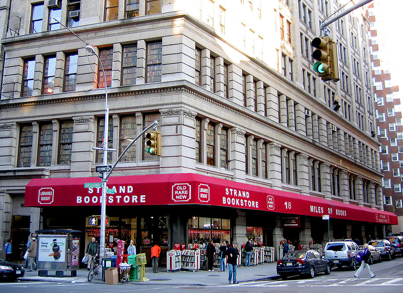 New York City bookstores' disappearing act