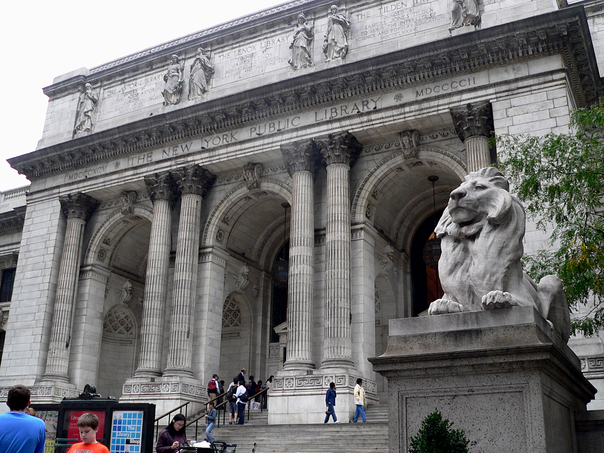 The New York Public Library is bringing you books via bookmobile