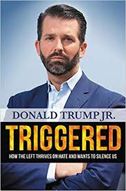Trump promotes son's book while accusing Biden's son of profiting from father's influence