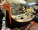 Famed waterproof bookstore in Venice suffering from recent flooding