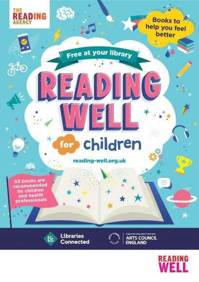 Books on prescription: successful reading scheme extended to include children's books