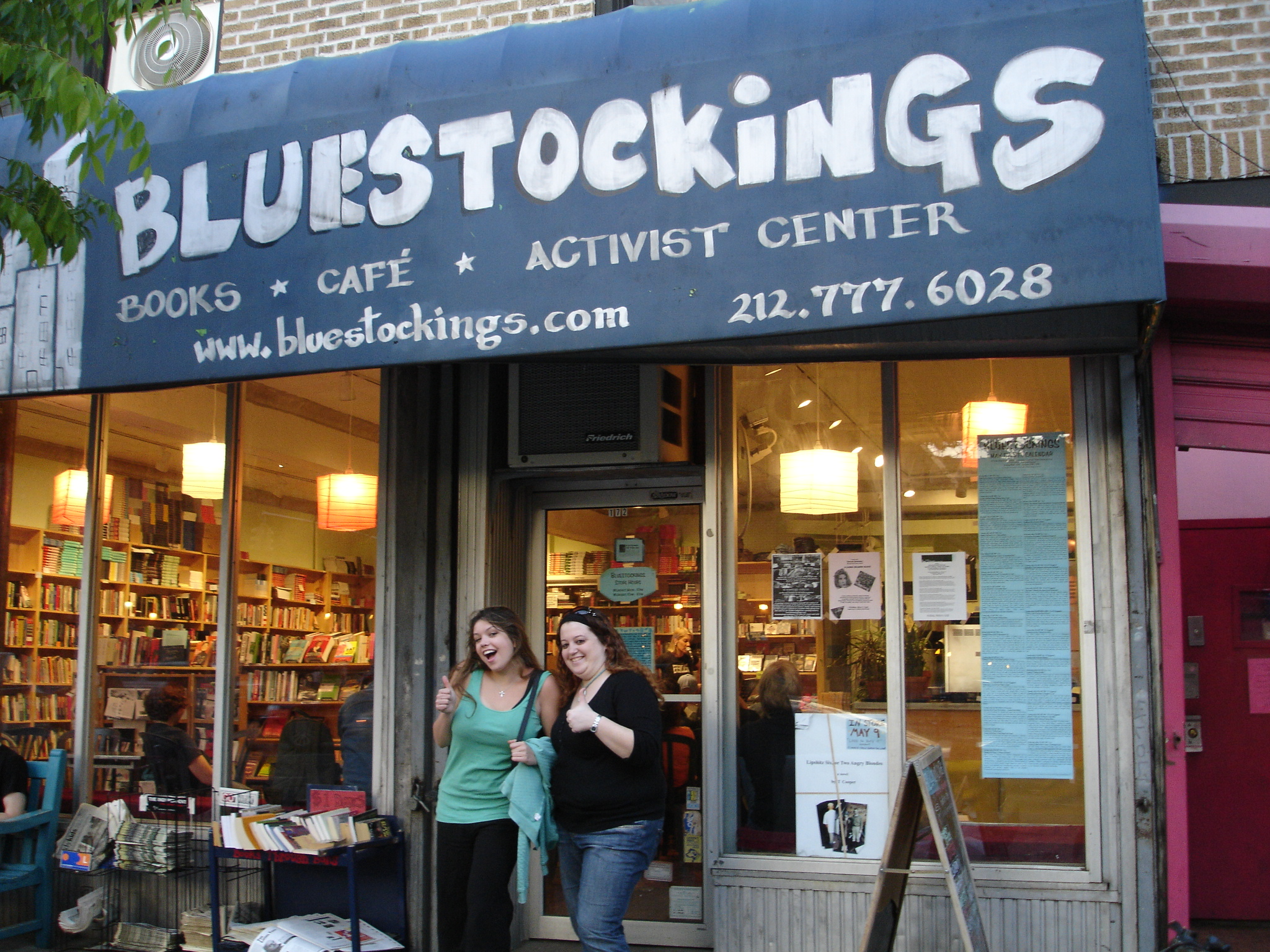 Bluestockings NYC seeks a new location