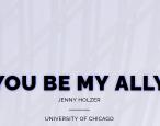 Jenny Holzer drops art app: lit refs abound