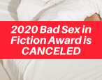 Bad Sex in Fiction Award is canceled