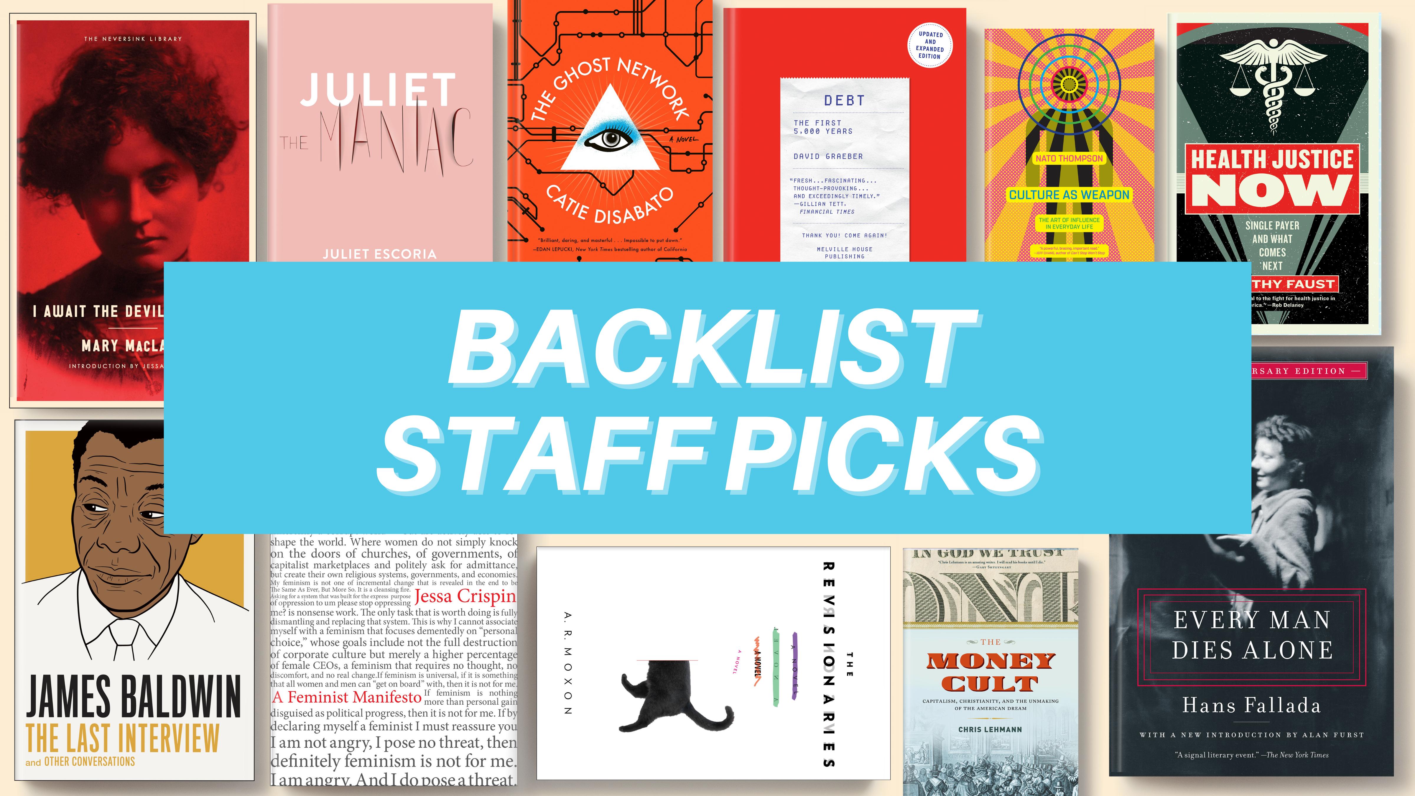 Backlist Staff Picks