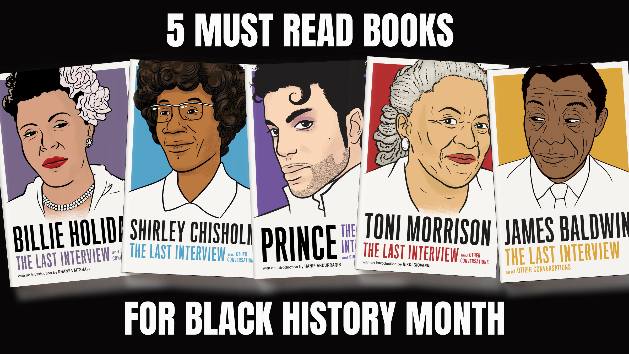 5 Must Read Books for Black History Month