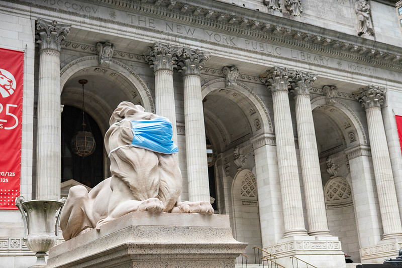NYPL Is re-opening incrementally, NYT reports